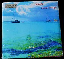 POOSA-OCEAN SONGS-ROCK, POP-2013-SEALED LP / INCLUDES FEE DOWNLOAD CARD