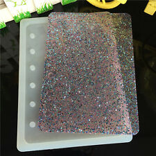 DIY Notebook Silicone Mold Epoxy Resin Casting Jewelry Making Kit 93x13cm Pro*`
