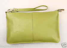 Women's Soft Real Leather Handbag Lady's Clutch Purse Crossbody Bag Wallets