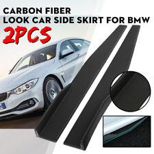 Carbon Fiber Universal Side Skirt Rocker Splitters Winglet Wings Canard