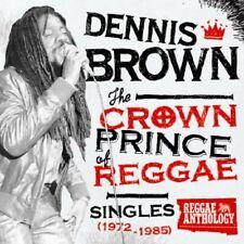 DENNIS BROWN CROWN PRINCE OF REGGAE LP VINYL 33RPM NEW