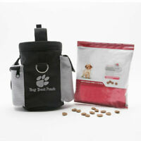Pet Dog Puppy Obedience Agility Bait Training Treat Snack Pouch Bag Food Z0R3