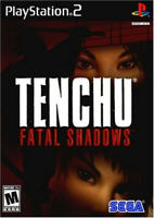 Tenchu Fatal Shadows Jeu Sony Playstation 2 PS2 Avec notice PAL FR