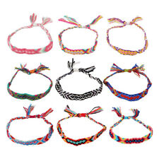 12pcs Bracelet Woven Lightweight Beautiful Colorful Hand Chain for Friends Girls