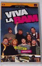SONY PSP UMD MTV'S VIVA LA BAM VOLUME 3 - BRAND NEW FACTORY SEALED!!