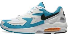 Nike Air Max2 Light 2 White Blue Black Uk 9 AO1741 100 Bnib Max Mens Trainers