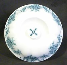 VINTAGE Johnson Bros / Brothers BLUE  ROSE HENZADA LID for  Serving Dish