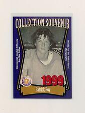 1998-99 Quebec Pee-Wee Souvenir Collection #04 Patrick Roy
