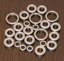 MUGEN SEIKI MBX-6 /MBX-6T /MBX-6R /MBX-6TR /MBX-7 Metal Sealed Ball Bearing Set