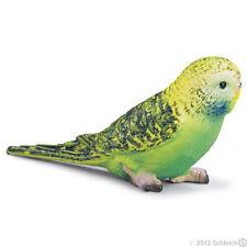 *NEW* SCHLEICH 14408 Green Budgie Budgerigar Bird Parakeet - RETIRED