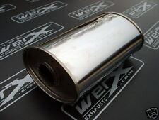 "Universal Silencer SS Box 2.5"" Bore 8x5x300mm Long"