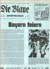 BL 84/85  FC Bayern München - Eintr.Braunschweig(Blaue)