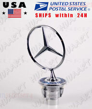 Hood Ornament For Benz, S500 C230 C240 C280 C320 CLK320 E300 E320 E350 E420