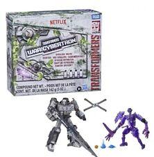 Transformers War For Cybertron netflix spoiler pack megatron skelivore In Hand