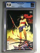 Wonder Woman 62 - CGC 9.8 - Matteo Scalera Variant Cover - Hot 🔥