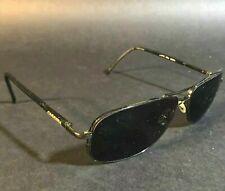 Metal Black Sport Wrap Sunglasses