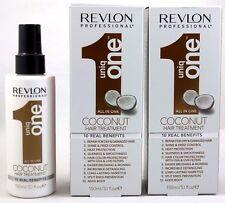 REVLON UNIQ ONE 10 IN 1 COCONUT HAIR TREATMENT 2 PC 5.1 OZ FREE FAST1-3 DAY SHIP