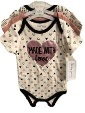 New ListingBaby Gear 3 Pack Short Sleeve Cotton One piece Bodysuit. 18 Months.