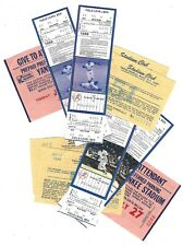 1988 New York Yankees vs Brewers, Yankee Stadium, Unused Full Tickets, Passes