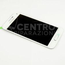 TOUCH SCREEN VETRO DISPLAY LCD SAMSUNG GALAXY S5 MINI BIANCO G800F GH97-16147B