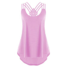 Sexy Women Summer Bandages Sleeveless Shirt Blouse Ladies Tops Strappy Tank Vest