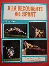 """ALBUM SUCHARD """"A la découverte du sport"""" complet des vignettes + boîte d'origine"""