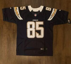 Antonio Gates Los Angeles Chargers Mens On Field Jersey Size 52 Free Ship (O)