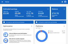 google adsense UK pin verifyed non hosted account for website