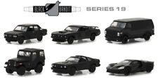 Greenlight 1/64 Black Bandit Series 19 Assortment Set Of 6 Diecast Car 27950