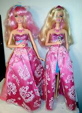 Barbie Princess & the Popstar 2 Tori Dolls Singing Tori Transforming 2N1 Dolls