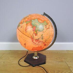 Vintage Scan Globe 1981 A/S Denmark Karl F Harig Lights Up Collectable