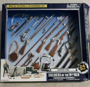 Vintage Soldiers of the World - Weapons Military Gear/Guns NIB Series /Civil War