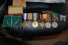 Medals ww1 & ww11 & cloth patches. Burma & Stevenage & Hitchin interest