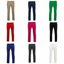 Pantaloni da uomo chino di cotone