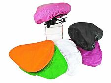 Waterproof Bike Seat Cover Bicycle Saddle Plastic Rain Cover - VARIOUS COLOURS