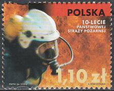 Poland 2002 - State Fire Service - Fi 3821 MNH**
