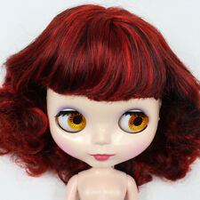 """Takara 12"""" Neo Blythe Curly Hair Nude Doll from Factory Tby27"""