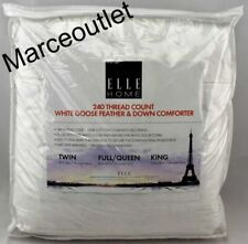 Blue Ridge Elle Home 240 Thread Count White Goose Feather & Down King Comforter