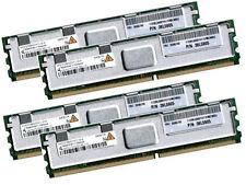 4x 2GB 8GB RAM IBM xSeries BladeCenter HS21 XM 667Mhz FBDIMM DDR2 FullyBuffered