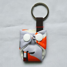 1 Fox Mini Tiny Cloth Diaper Keychain Snap Baby Shower Gift Christmas Ornament