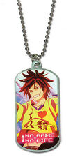 *New* No Game No Life: Sora Dogtag Necklace by Ge Animation