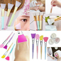 Silicone Face Mask Brush Facial Mask Mud Mixing Applicator Makeup Tools