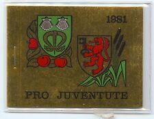 Switzerland, 1981 Pro Juventute Booklet, complete, used, unexploded, superb