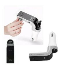 Car Kit MP3 Player LCD Wireless Bluetooth FM Transmitter Modulator USB Charger
