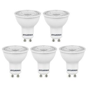 5 Packung Sylvania LED GU10 Spot Lichter 5w = 50w 36° - 3000k 4000k 6500k
