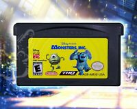 Monsters, Inc. [Nintendo Game Boy Advance Disney Pixar Licensed Action Kids Game