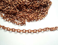 20 FT. COPPER COATED STEEL OVAL LINK CHAIN-M49