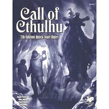 Call of Cthulhu Quick Start Rules - 7th edition Call of Cthulhu RPG - New