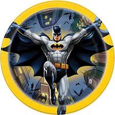 18cm Batman Party Plates, Pack of 8   NEW
