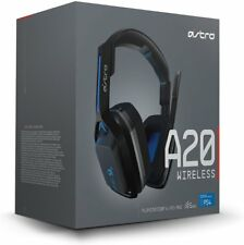 ASTRO A20 Wireless Headset, Black/Blue - PlayStation 4 ASTRO Gaming